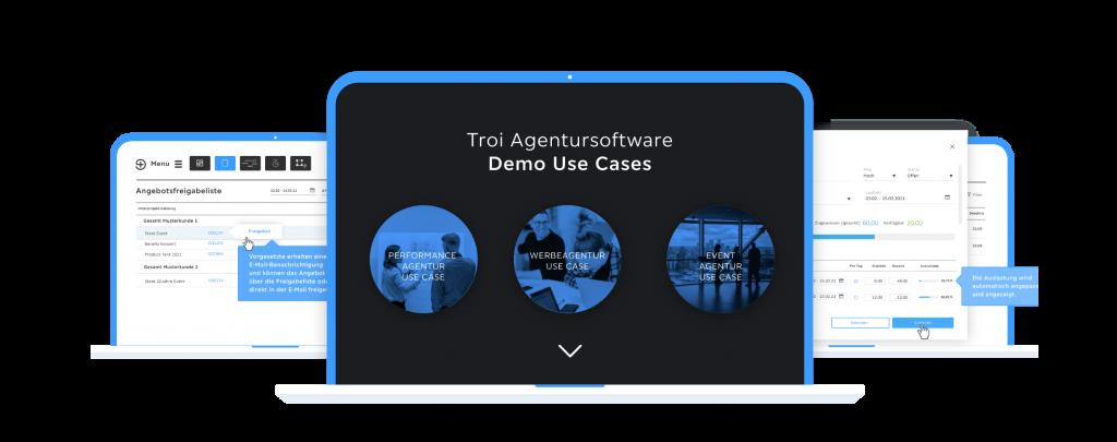 Agentursoftware Demo testen