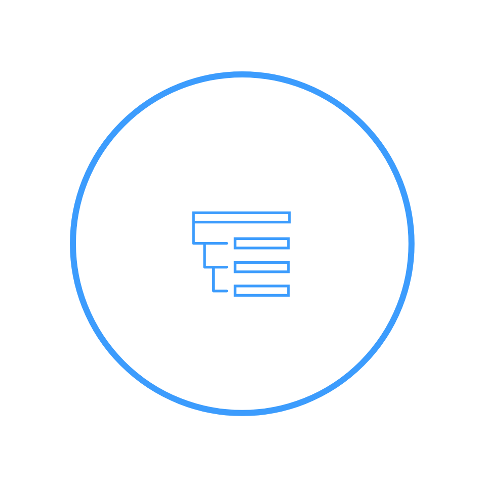 Icon-Hierarchie