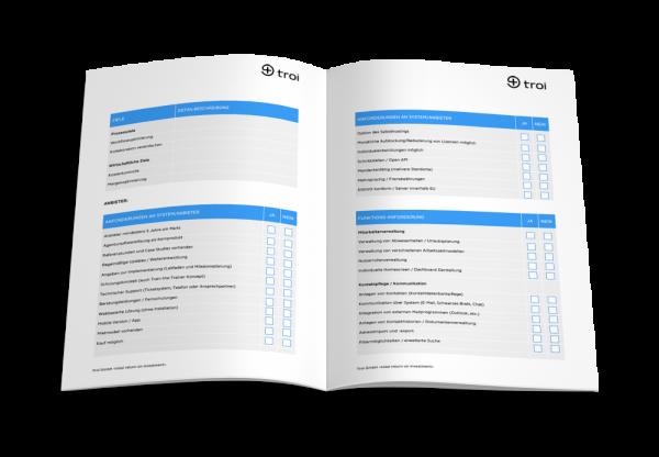 WP Checklist - Agentursoftware Vergleich